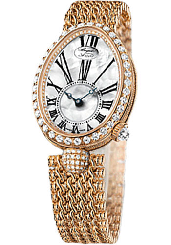 Breguet Watches - Reine de Naples 24.95mm X 33mm - Rose Gold - Style No: 8928BR/51/J20.DD00