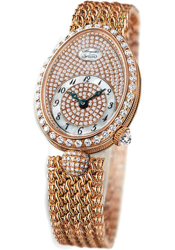 Breguet Watches - Reine de Naples 24.95mm X 33mm - Rose Gold - Style No: 8928BR/8D/J20.DD00