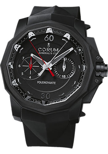 Corum Watches - Admiral's Cup Seafender 48 Chrono Foudroyante Titanium - Style No: 895.931.95/0371 AN12