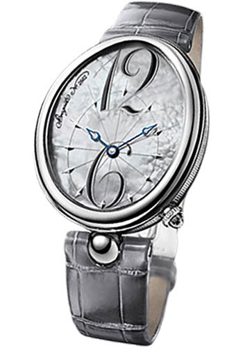 Breguet Watches - Reine de Naples 35.5mm X 43.75mm - Steel - Style No: 8967ST/58/986
