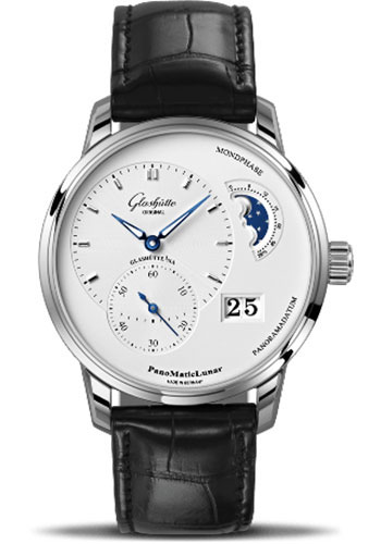 Glashutte Original Watches - Quintessentials PanoMaticLunar - Style No: 90-02-42-32-05