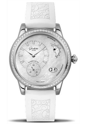 Glashutte Original Watches - Ladies Collection PanoMatic Luna - Style No: 90-12-01-12-04