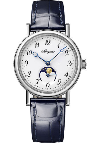 Breguet Watches - Classique Dame 9087 - Moon Phases - 30mm - Style No: 9087BB/29/964