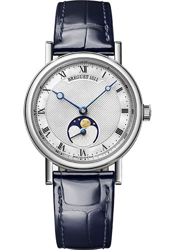 Breguet Watches - Classique Dame 9087 - Moon Phases - 30mm - Style No: 9087BB/52/964