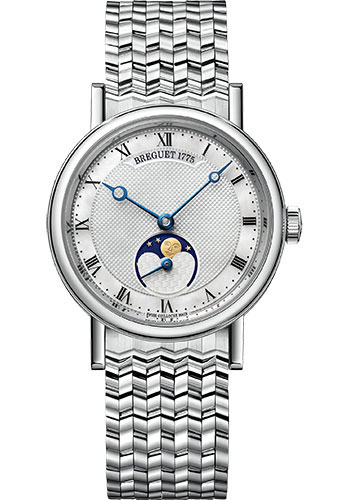 Breguet Watches - Classique Dame 9087 - Moon Phases - 30mm - Style No: 9087BB/52/BC0
