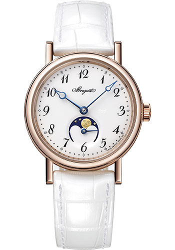 Breguet Watches - Classique Dame 9087 - Moon Phases - 30mm - Style No: 9087BR/29/964