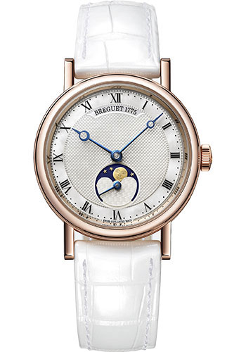 Breguet Watches - Classique Dame 9087 - Moon Phases - 30mm - Style No: 9087BR/52/964