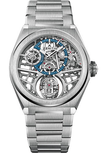Zenith Watches - Defy Zero G Titanium - Style No: 95.9000.8812/78.M9000