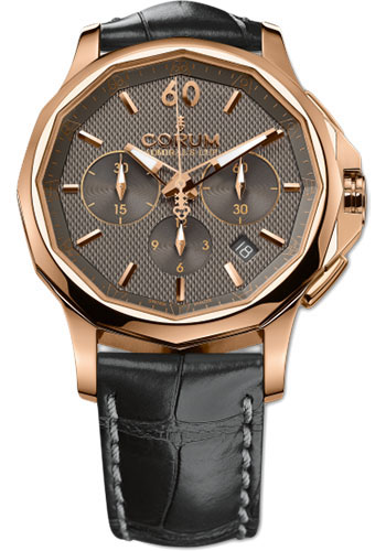 Corum Watches - Admiral's Cup Legend 42 Chronograph - Red Gold - Style No: 984.101.55/0001 AK12