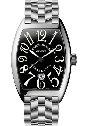 Franck Muller Watches - Cintre Curvex - Automatic - 43 mm Casablanca - White Gold - Bracelet - Style No: 9880 C DT O OG Black