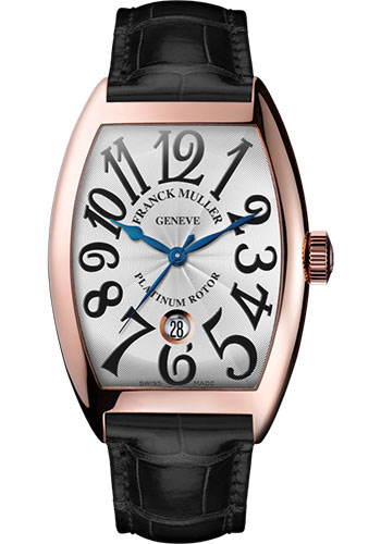 Franck Muller Watches - Cintre Curvex - Automatic - 43 mm Rose Gold - Strap - Style No: 9880 SC DT 5N White Black
