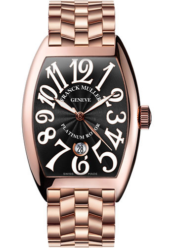 Franck Muller Watches - Cintre Curvex - Automatic - 43 mm Rose Gold - Bracelet - Style No: 9880 SC DT O 5N Black