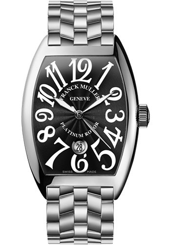 Franck Muller Watches - Cintre Curvex - Automatic - 43 mm Stainless Steel - Bracelet - Style No: 9880 SC DT O AC Black
