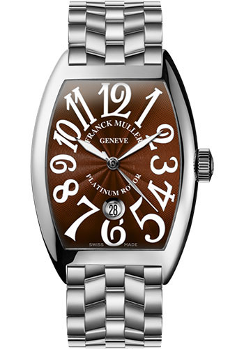 Franck Muller Watches - Cintre Curvex - Automatic - 43 mm White Gold - Bracelet - Style No: 9880 SC DT O OG Brown