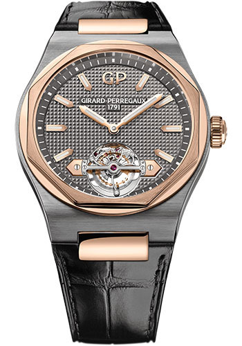 Girard-Perregaux Watches - Laureato Tourbillon - Style No: 99105-26-231-BB6A