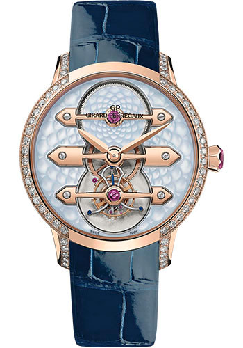 Girard-Perregaux Watches - Bridges Tourbillon - Style No: 99242D52B401-CK4A