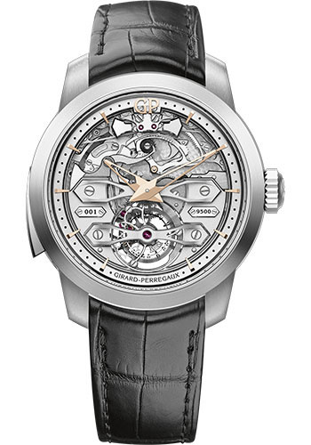 Girard-Perregaux Watches - Bridges Minute Repeater Tourbillon with Bridges - Style No: 99820-21-001-BA6A