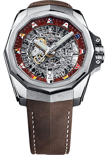 Corum Watches - Admiral Squelette 45 mm - Titanium - Style No: A082/03211 - 082.402.04/0F62 WO01