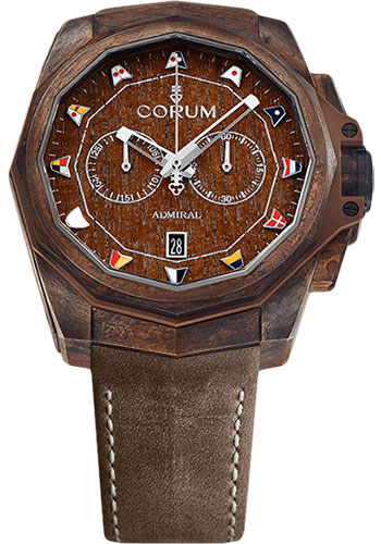 Corum Watches - Admiral Chronograph 45 mm - Bronze - Style No: A116/03210 - 116.200.53/0F62 AW01