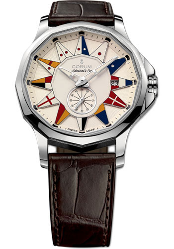 Corum Watches - Admiral Legend 42 mm - Stainless Steel - Style No: A395/02983 - 395.101.20/0F02 AA12