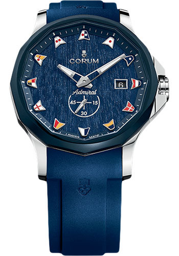 Corum Watches - Admiral Legend 42 mm - Stainless Steel - Style No: A395/03595