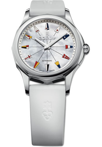 Corum Watches - Admiral's Cup Legend 32 Stainless Steel - Style No: A400/02853