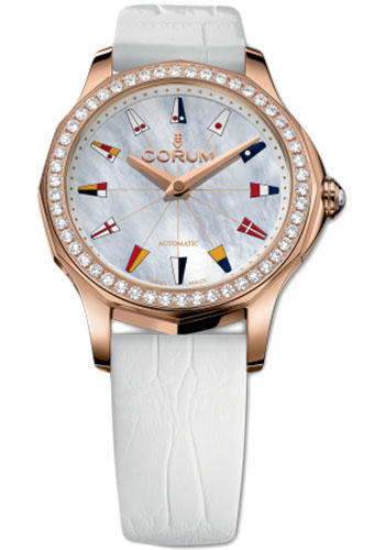 Corum Watches - Admiral's Cup Legend 32 Red Gold - Style No: A400/02904