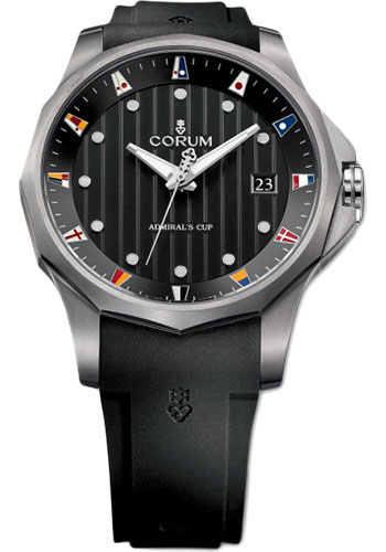 Corum Watches - Admiral's Cup Legend 47 Titanium - Style No: A403/02905 - 403.100.04/F371 AN10