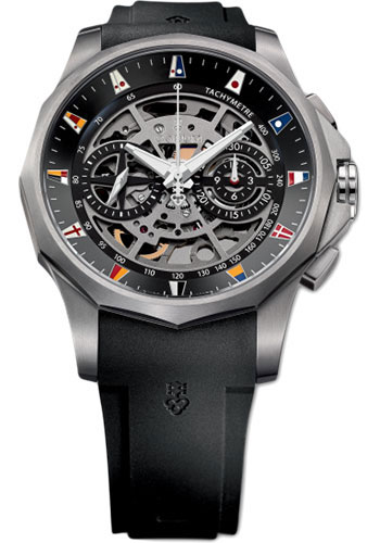Corum Watches - Admiral's Cup Legend 47 Chronograph Squelette - Style No: A404/02901 - 404.100.04/F371 AN10