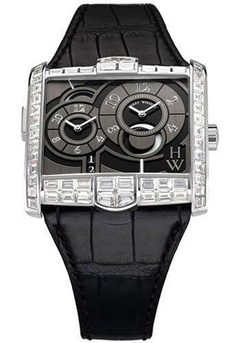 Harry Winston Watches - Avenue Squared A2 Automatic - Style No: AVSATZ45WW003