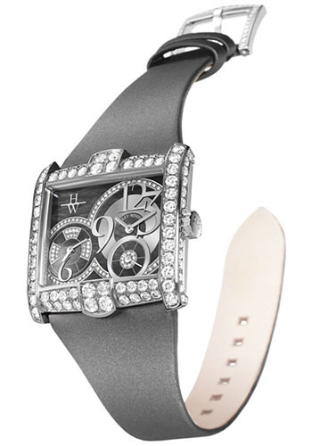 Harry Winston Watches - Avenue Squared A2 - Style No: AVSQTZ38WW010