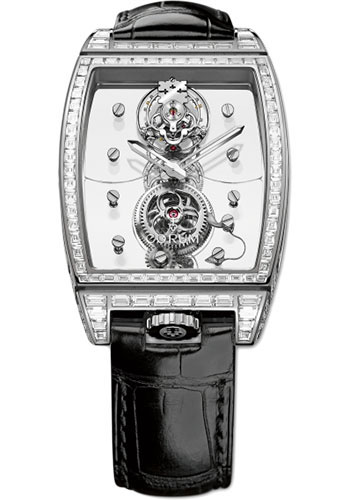 Corum Watches - Golden Bridge Tourbillon Panoramique White Gold - Style No: B100/01509