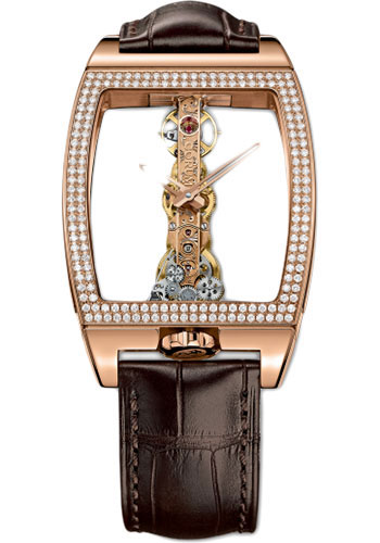Corum Watches - Golden Bridge 34 x 51 mm - Red Gold - Style No: B113/01045 - 113.161.85/0002 0000