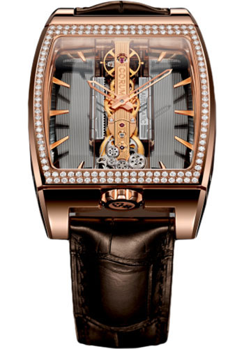 Corum Watches - Golden Bridge Automatic 37.20 x 51.80 mm - Red Gold - Style No: B313/01613 - 313.167.85/0002 GL10R