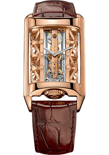 Corum Watches - Golden Bridge 31.00 x 42.20 mm - Stream Bridge Automatic - Style No: B313/03296 - 313.100.55/OF02 SB01R