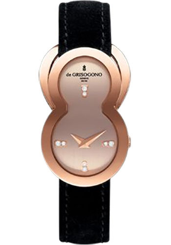 de Grisogono Watches - Be Eight Rose Gold - Style No: BE EIGHT N01
