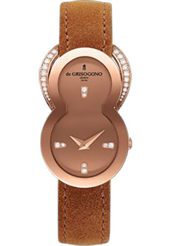 de Grisogono Watches - Be Eight Rose Gold - Style No: BE EIGHT S01