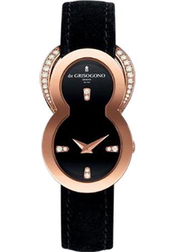 de Grisogono Watches - Be Eight Rose Gold - Style No: BE EIGHT S02