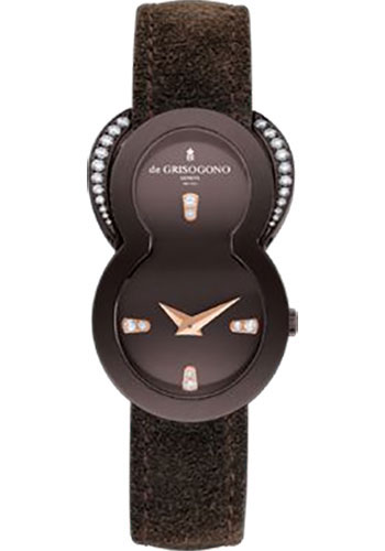 de Grisogono Watches - Be Eight Rose Gold - Style No: BE EIGHT S03