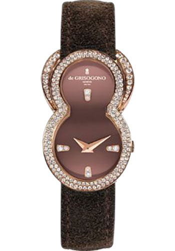 de Grisogono Watches - Be Eight Rose Gold - Style No: BE EIGHT S04