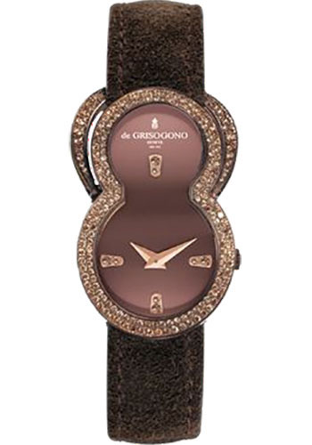 de Grisogono Watches - Be Eight Rose Gold - Style No: BE EIGHT S05