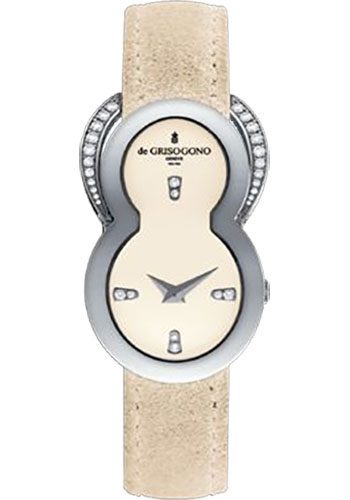 de Grisogono Watches - Be Eight White Gold - Style No: BE EIGHT S06