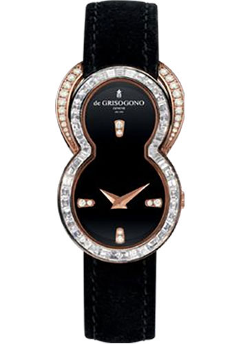 de Grisogono Watches - Be Eight Rose Gold - Style No: BE EIGHT S25D