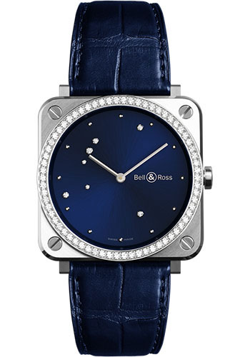 Bell & Ross Watches - BR-S Quartz Diamond Eagle - Style No: BR-S Diamond Eagle Diamonds