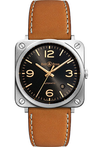 Bell & Ross Watches - BR-S Mechanical Golden Heritage - Style No: BR-S Golden Heritage