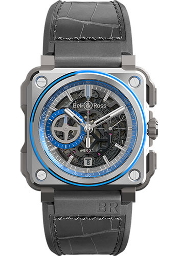 Bell & Ross Watches - BR-X1 Chronograph Hyperstellar - Style No: BRX1-AL-TI-BLU