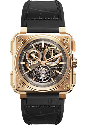 Bell & Ross Watches - BR-X1 Skeleton Tourbillon Rose Gold - Style No: BR-X1 Tourbillon Rose Gold