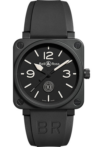 Bell & Ross Watches - BR 01-92 Automatic 10th Anniversary - Style No: BR 01-92 10th Anniversary
