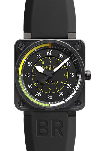 Bell & Ross Watches - BR 01-92 Automatic Airspeed - Style No: BR 01-92 Airspeed
