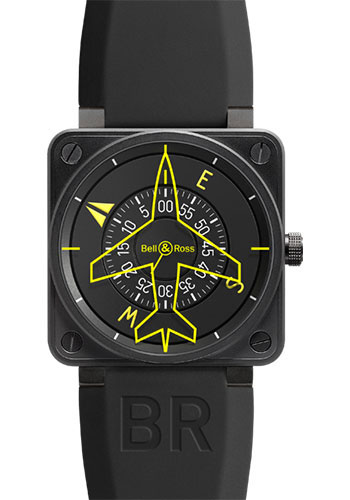 Bell & Ross Watches - BR 01-92 Automatic Heading Indicator - Style No: BR0192-HEADING